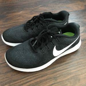 Nike FREE RN black running shoes
